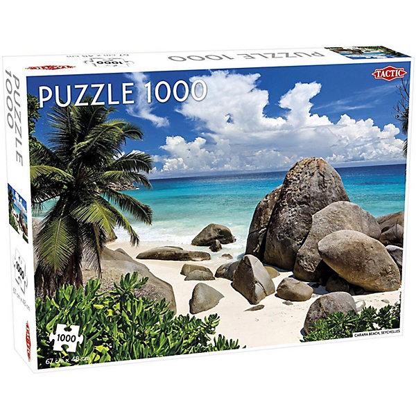 Купить Пазлы Tactic Сейшельские острова. Пляж , 1000 элементов, Финляндия, Унисекс