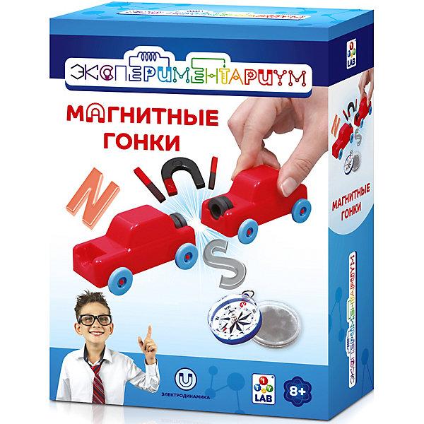 1Toy Набор Экспериментариум Магнитные гонки