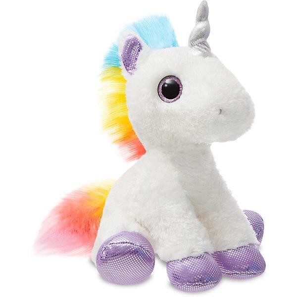 AURORA Мягкая игрушка Aurora Радужный Единорог, 30 см цена