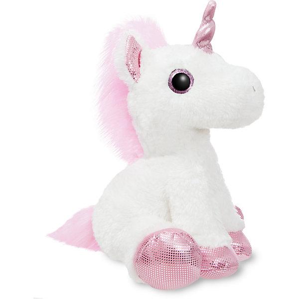 AURORA Мягкая игрушка Aurora Единорог, розовый, 30 см цена