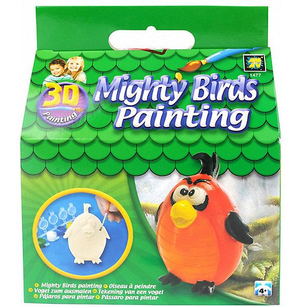 Набор для творчества AMAV «Разрисуй попугая 3D»Наборы для росписи<br>Характеристики товара:<br><br>• материал: гипс<br>• в комплекте: 1 гипсовая фигурка, краски, кисточка, инструкция<br><br>Набор для творчества, в котором ребенку предстоит раскрасить красками гипсовую фигурку. Готовую фигурку можно поставить в комнате на полку. Набор развивает творческие способности, фантазию, усидчивость.