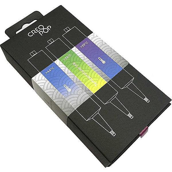 CreoPop Набор картриджей CreoPop, термочувствительные, желтый в прозрачный, фиолетовый красный, зеленый белый