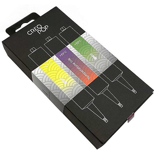 CreoPop Набор картриджей CreoPop, термочувствительные, желтый, фиолетовый, зеленый