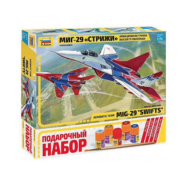 Звезда Сборная модель Zvezda Самолет МиГ-29 аввиагруппа Стрижи