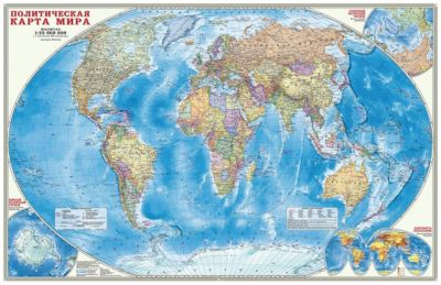 Фото - ГеоДом Карта настенная Геодом «Мир Политический» пазлы геодом карта пазл россия политическая 260 деталей