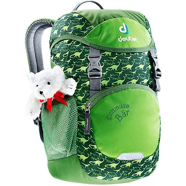 Купить Рюкзак Deuter Schmusebär, зеленый, Вьетнам, Унисекс
