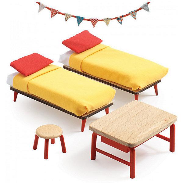 DJECO Мебель для кукольного дома Djeco Спальня детей