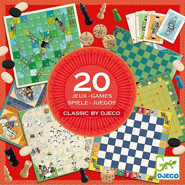 DJECO Набор настольных игр 20в1 Djeco