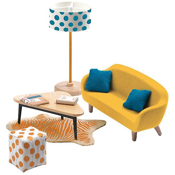 DJECO Мебель для кукольного дома Djeco Оранжевая гостиная