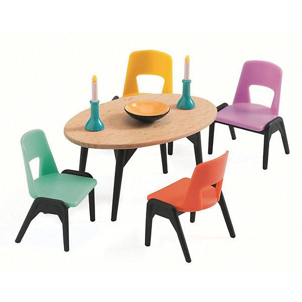 DJECO Мебель для кукольного дома Djeco Столовая