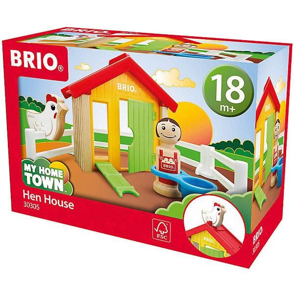 Игровой набор Brio Мой родной дом Курятник 11239598