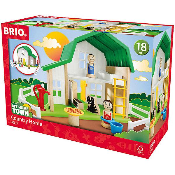 """BRIO Игровой набор Brio """"Мой родной дом"""" Загородный дом"""