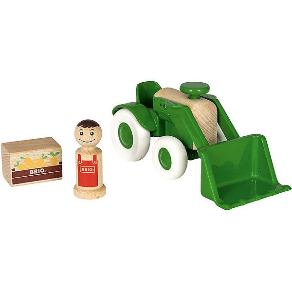 Игровой набор Brio Мой родной дом Трактор с морковкой 11240546