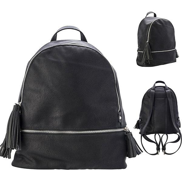 ACTION! Рюкзак-мини ACTION, молодежный, разм. 33х23.5х12 см, , цвет фурнитуры-серебристый, иск. Кожа