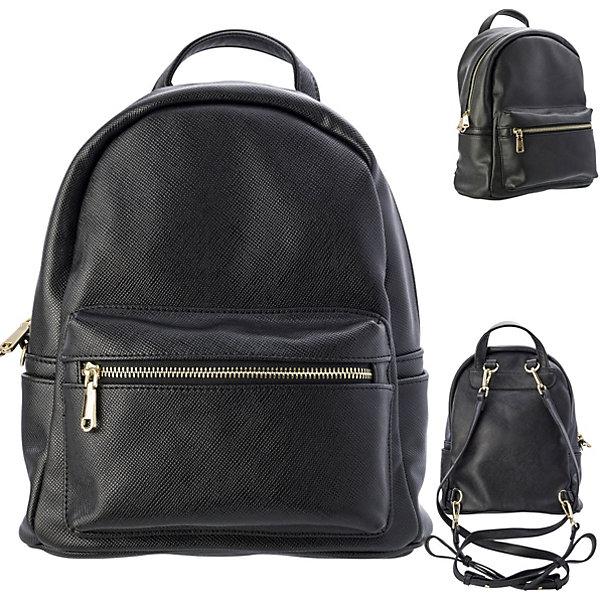 ACTION! Рюкзак-мини ACTION, молодежный, разм. 28х22х12 см, , цвет фурнитуры-золотистый, иск. Кожа