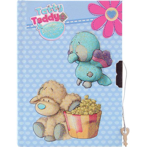 ACTION! Блокнот с замком ACTION!, Blue Nose Friends, твердая обложка, пакет дневник action д млад классов романтика твердая обложка глянцевая ламинация