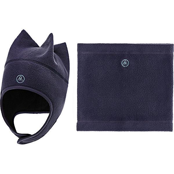 Купить Комплект Premont: шапка и снуд, Китай, серый, 51, 52-53, 50, 53-54, Унисекс
