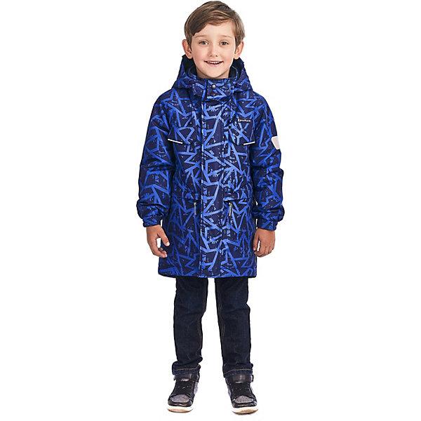 """Куртка Premont """"Геометрия Онтарио"""" для мальчика, Синий"""