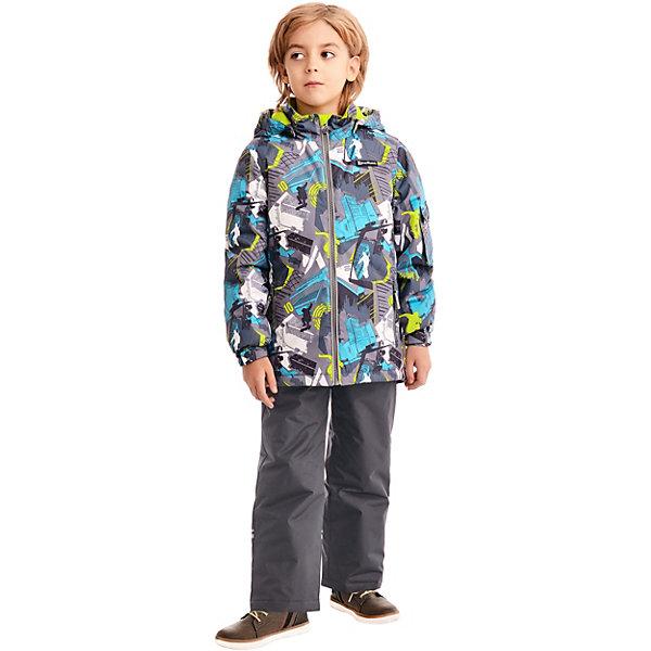"""Комплект Premont """"Парк Миллениум"""": куртка и брюки для мальчика, Серый"""