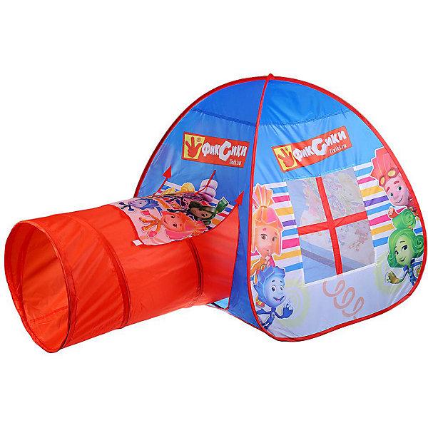 Играем вместе Игровая палатка Фиксики, с тоннелем