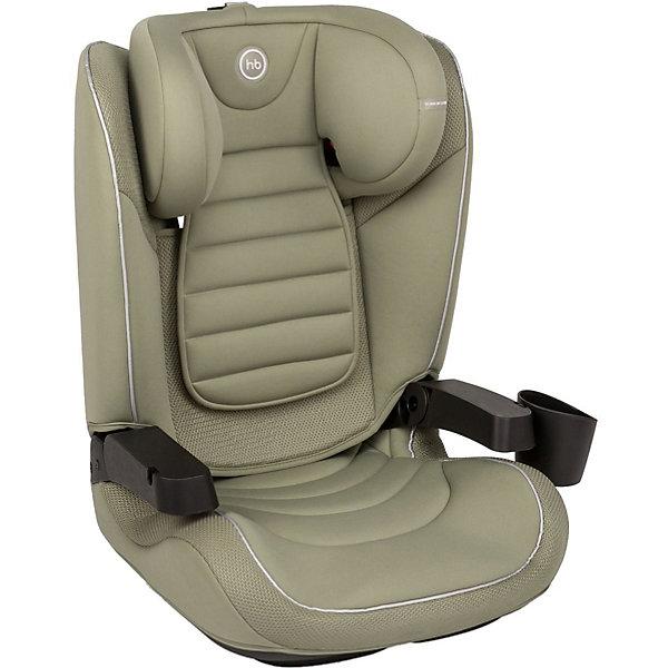 Автокресло Happy Baby Bronson, зеленоеГруппа 2-3  (от 15 до 36 кг)<br>Характеристики товара:<br><br>• материал: пластик, металл, текстиль<br>• вес автокресла: 5,7 кг<br>• стандарт безопасности: ECE R44/04<br>• ширина посадочного места: 29 см<br>• глубина посадочного места: 36 см<br>• крепление: ISOFIX + трехточечные ремни безопасности<br>• трансформируется в бустер для группы III<br>• поднимающиеся подлокотники<br>• съёмный чехол<br>• страна бренда: Великобритания<br><br>Внимание! Цвет товара как на первом фото. Все последующие фото являются информационными, для ознакомления с функционалом модели.<br><br>Многофункциональное и комфортное автокресло легко трансформируется в бустер. Дополнено съёмным подстаканником. Чехол можно стирать. Надёжно крепление и дополнительные ремни обеспечат максимальную безопасность во время поездки.