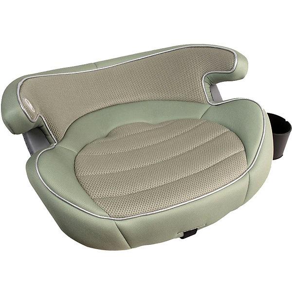 Бустер Happy Baby Rulex, зеленыйГруппа 3 (от 22 до 36 кг) Бустеры<br>Характеристики товара:<br><br>• материал: пластик, металл, текстиль<br>• вес бустера: 1,5 кг<br>• стандарт безопасности: ECE R44/04<br>• ширина посадочного места: 29 см<br>• глубина посадочного места: 30 см<br>• трёхточечные ремни безопасности для II и III группы<br>• для установки бустера автомобиль должен иметь крепления ISOFIX<br>• съёмный чехол<br>• страна бренда: Великобритания<br><br>Лёгкий и компактный бустер дополнен съёмным подстаканником, есть подлокотники и нижние крепления. Подходит для коротких или дальних поездок. Удобная форма обеспечит защиту сзади и по бокам.