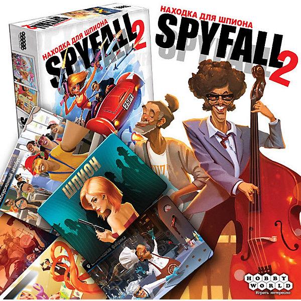 Купить Настольная игра Hobby World Находка для шпиона , 2-е издание, Россия, Унисекс