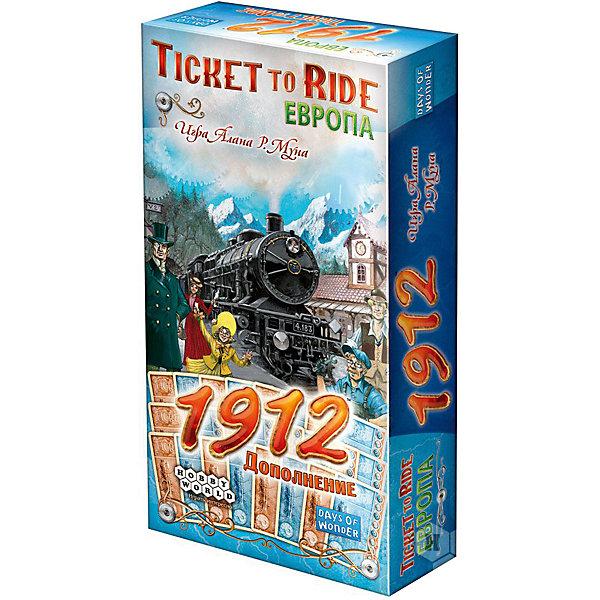 Hobby World Настольная игра Hobby World Ticket to Ride Европа: 1912, дополнение hobby world настольная игра ticket to ride junior европа
