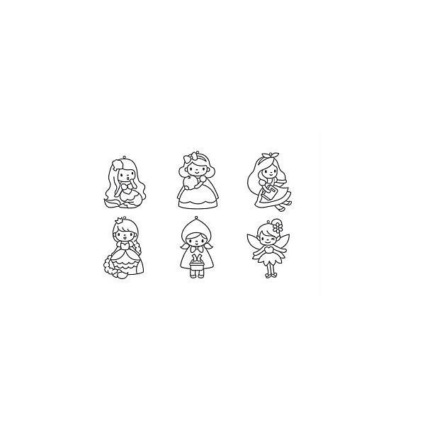 Купить Набор мини-витражей Amos Набор 16 , 6 шт, Корея, Женский