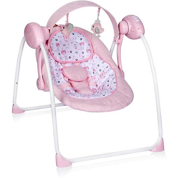 Электрокачели Lorelli Portofino, розовый