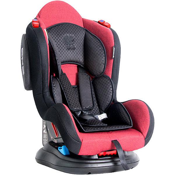Автокресло Lorelli HB 919 Jupiter 0-25 кг, красно-чёрныйГруппа 0-1-2  (до 25 кг)<br>Характеристики:<br><br>• тип товара: автокресло <br>• материал: пластик, металл, текстиль<br>• вес ребенка: до 25 кг<br>• страна бренда: Болгария<br><br><br>Автокресло со стильным дизайном легко крепится в автомобиле. Модель повышенной надежности имеет 5-точечный ремень безопасности, который можно отрегулировать по высоте. Спинка фиксируется в разных положениях. Сделана мягкая вставка из ткани. Автокресло располагает дополнительной защитой от бокового удара.