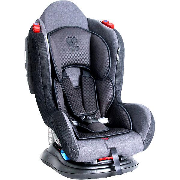 Автокресло Lorelli HB 919 Jupiter 0-25 кг, чёрныйГруппа 0-1-2  (до 25 кг)<br>Характеристики:<br><br>• тип товара: автокресло <br>• материал: пластик, металл, текстиль<br>• вес ребенка: до 25 кг<br>• страна бренда: Болгария<br><br><br>Автокресло со стильным дизайном легко крепится в автомобиле. Модель повышенной надежности имеет 5-точечный ремень безопасности, который можно отрегулировать по высоте. Спинка фиксируется в разных положениях. Сделана мягкая вставка из ткани. Автокресло располагает дополнительной защитой от бокового удара.