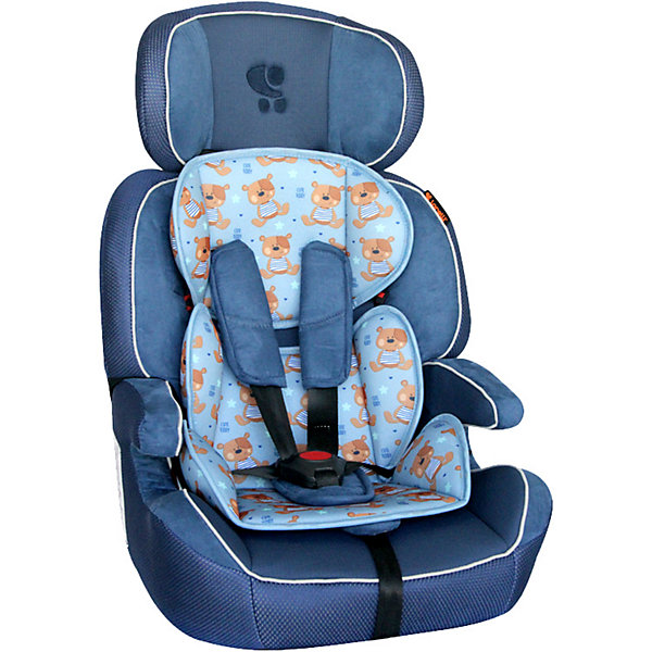 Автокресло Lorelli LD-01 Navigator 9-36 кг, синийГруппа 1-2-3  (от 9 до 36 кг)<br>Характеристики:<br><br>• тип товара: автокресло <br>• материал: пластик, металл, текстиль<br>• вес ребенка: от 9 до 36 кг<br>• страна бренда: Болгария<br><br><br>Автокресло со стильным дизайном легко крепится в автомобиле. Модель имеет 5-точечный ремень безопасности, который можно отрегулировать по высоте. Сделаны мягкие накладки. Спинка фиксируется в разных положениях. Автокресло может трансформироваться в бустер. Тканевую часть можно снять и постирать. Для малышей предусмотрена вставка.