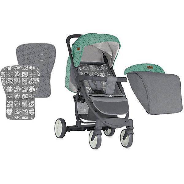Купить Прогулочная коляска Lorelli S-300, зелёно-серый, Болгария, grau/grün, Унисекс