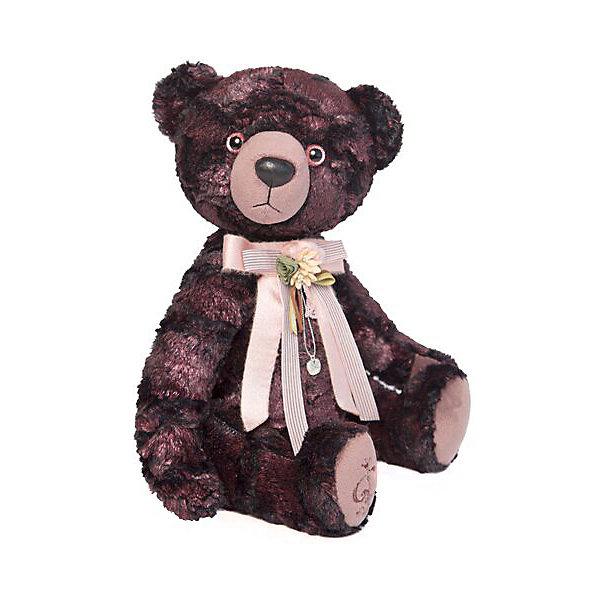Budi Basa Мягкая игрушка Медведь БернАрт, бордовый, 30 см