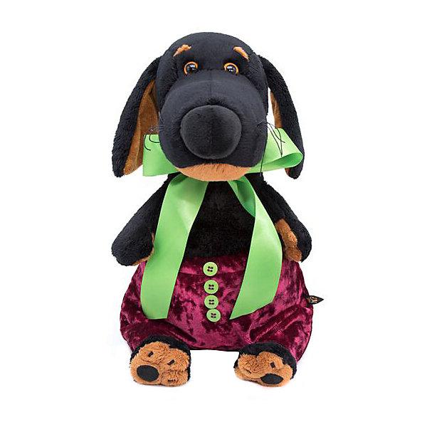 Budi Basa Мягкая игрушка Budi Basa Собака Ваксон в бархатных штанишках, 25 см игрушка для ванны курносики пупсик в штанишках