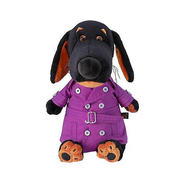 Budi Basa Мягкая игрушка Budi Basa Собака Ваксон в плаще, 25 см