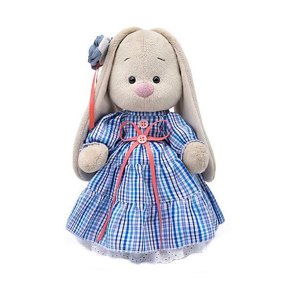Budi Basa Мягкая игрушка Зайка Ми в платье стиле Кантри, 32 см