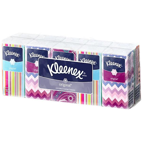 цена Kleenex Носовые платочки Kleenex Original, упаковка 10 штук онлайн в 2017 году