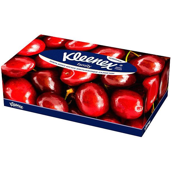Купить Салфетки Kleenex Family, 150 штук, Саудовская Аравия, Унисекс