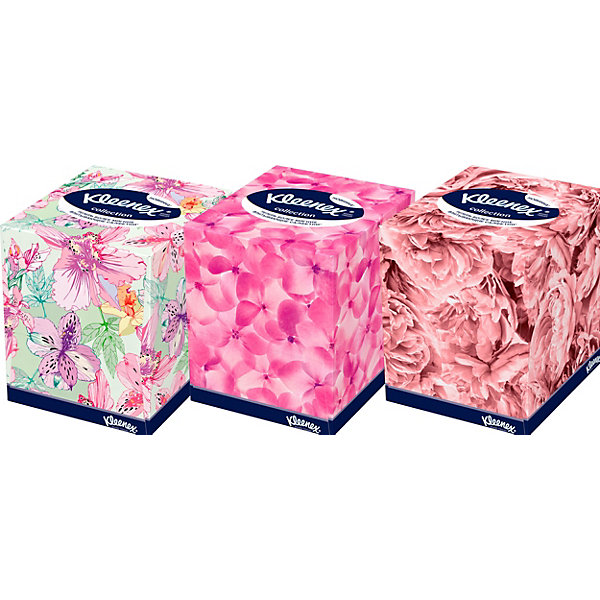 Салфетки Kleenex Collection, 100 штук