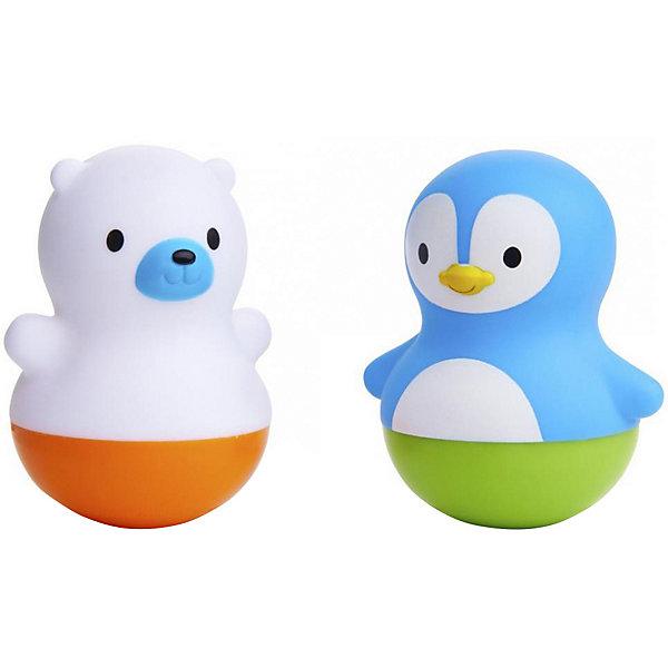 munchkin Игрушки для ванны Munchkin поплавки Медведь и Пингвин игрушки для грудничка 7 месяцев