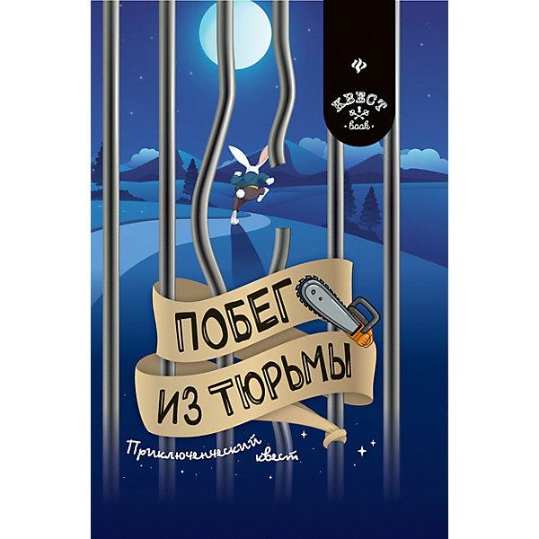 Купить Приключенческий квест Квест book Побег из тюрьмы, А. Малютин, Fenix, Украина, Унисекс