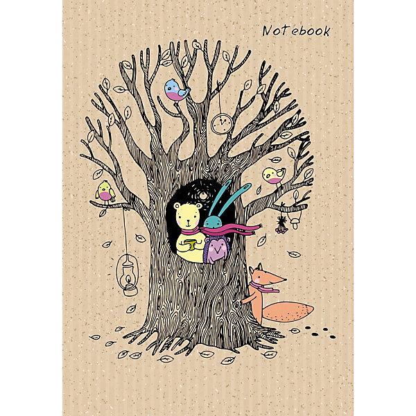 Канц-Эксмо Книга для записей «Канц-Эксмо» В осеннем лесу