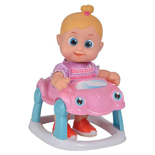Купить Интерактивная кукла Bouncin' Babies Кукла Бони , с машиной, 16 см, Китай, Женский