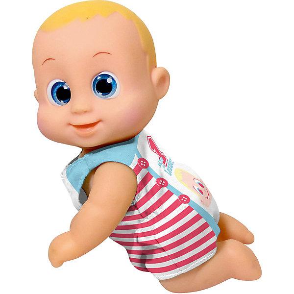 Bouncin Babies Интерактивная кукла Кукла Баниэль, ползущая, 16 см