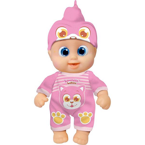 Купить Интерактивная кукла Bouncin' Babies Кукла Бони , пьющая и писающая, 16 см, Китай, Женский