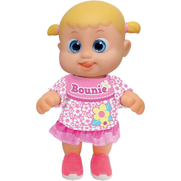 Bouncin Babies Интерактивная кукла Кукла Бони, шагающая, 16 см