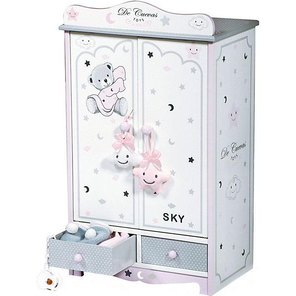 DeCuevas Гардеробный шкаф для кукол Скай, 54 см