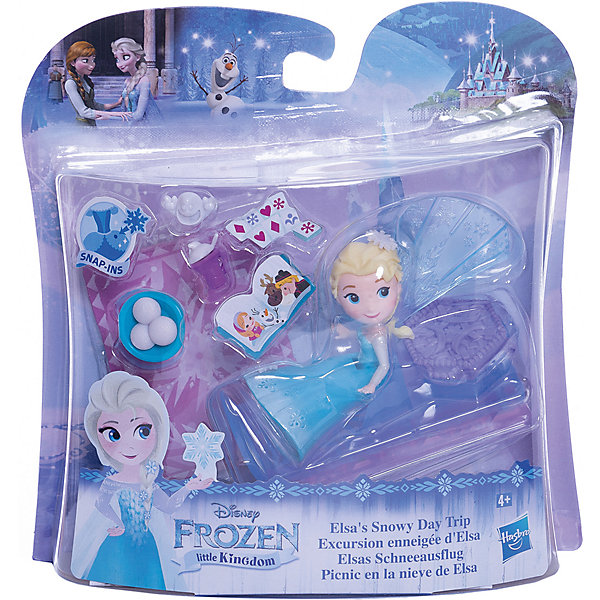 Hasbro Игровой набор Disney Princess Холодное сердце Эльза и снежное путешествие
